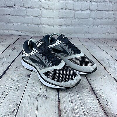 NEW Brooks Men/'s Revel Running Shoes Lace Up Black//White #1102601D115 202GH tz