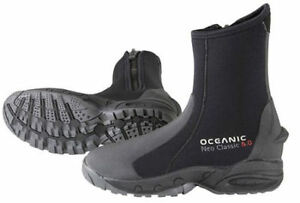 Oceanic Neo 5mm booties boots heavy duty warm rugged boot dive LAST ONES