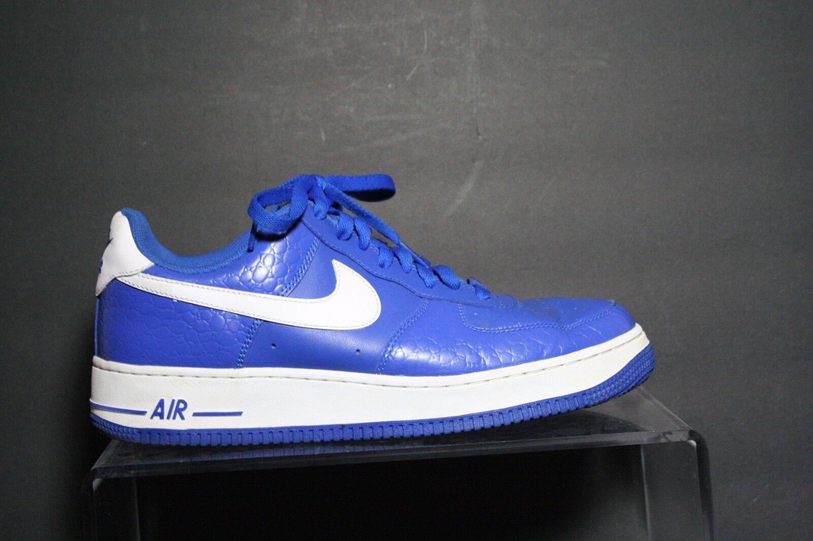 Nike Air Force 1 07' Sneaker 10' Varsity Duke Kentucky Athletic Men 9.5 Multi
