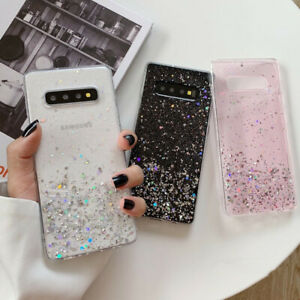 New-Bling-Glitter-Clear-Gel-Soft-Phone-Case-Cover-For-Samsung-Galaxy-S10-Plus-S9