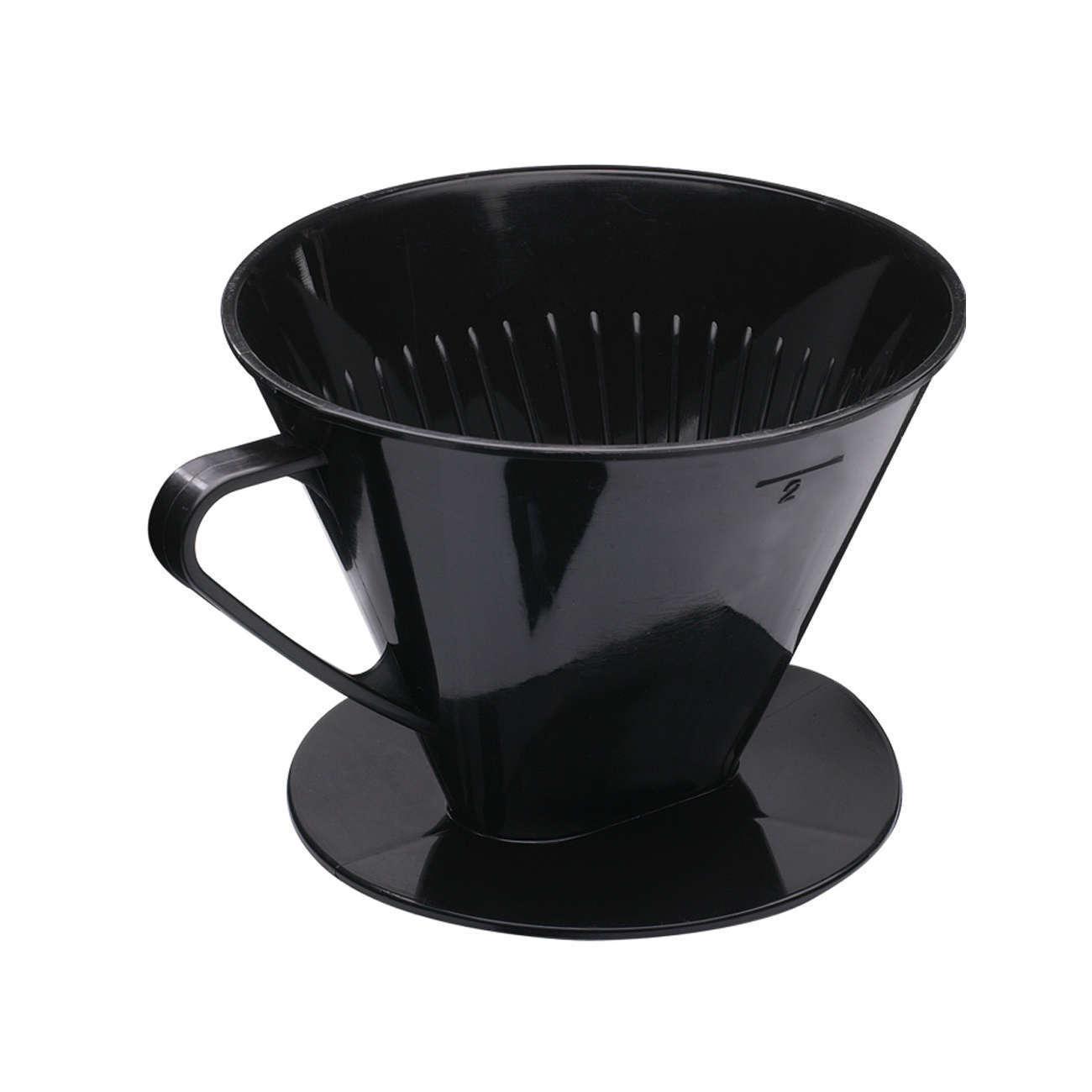 Kaffeefilter Kunststoff für 2 Tassen Kaffeeaufsatz Filter