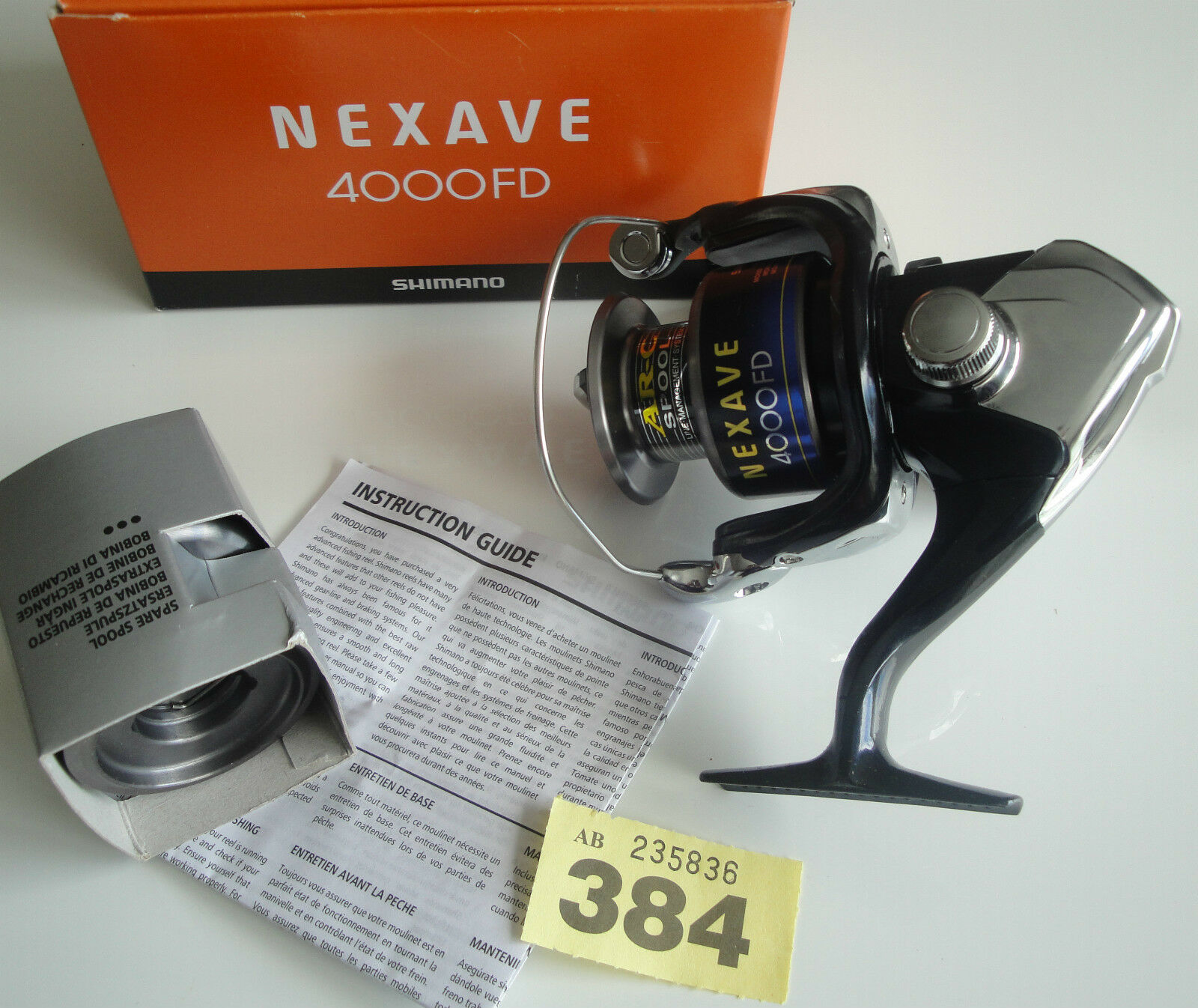 Shimano Nexave Nexave Nexave 4000 FD Moulinet de pêche frein avant 88d7dd