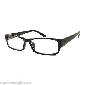 image is loading vintage nerd rectangular frame men women eyewear clear