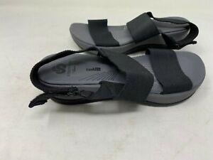 NEW-Clarks-Women-039-s-Cloudsteppers-Sandals-Black-15906-148R-z