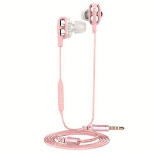 Kopfhoerer-In-Ear-Langsdom-D4-Super-Bass-Ohrhoerer-Ohrstoepsel-Klang-Pink