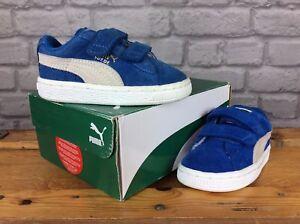 5 Classic Puma y Uk Blue 22 gamuza de de gancho deporte Zapatillas Childrens Eu FYYEqaw