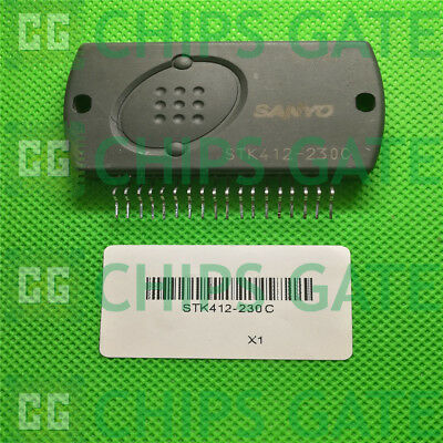 1PCS STK402-070 Encapsulation:SIP-ZIP,Two-Channel Class AB Audio Power
