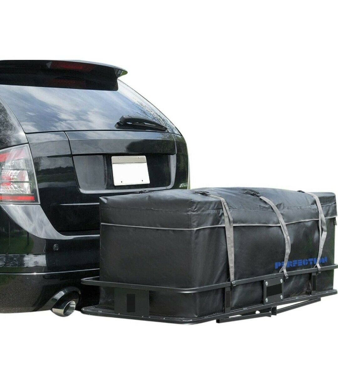 PVC Pipe Frame for Hitch Cargo Bag 59 x 24 x 24 MARKSIGN Waterproof Hitch Carrier Cargo Bag