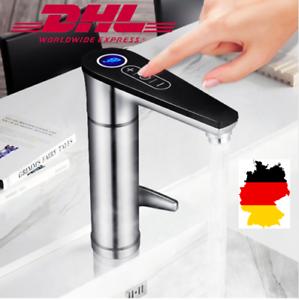 Luxurioses 160 Grad Drehbarer Elektrischer Wasserhahn Mit Tap Touch Technologie Ebay