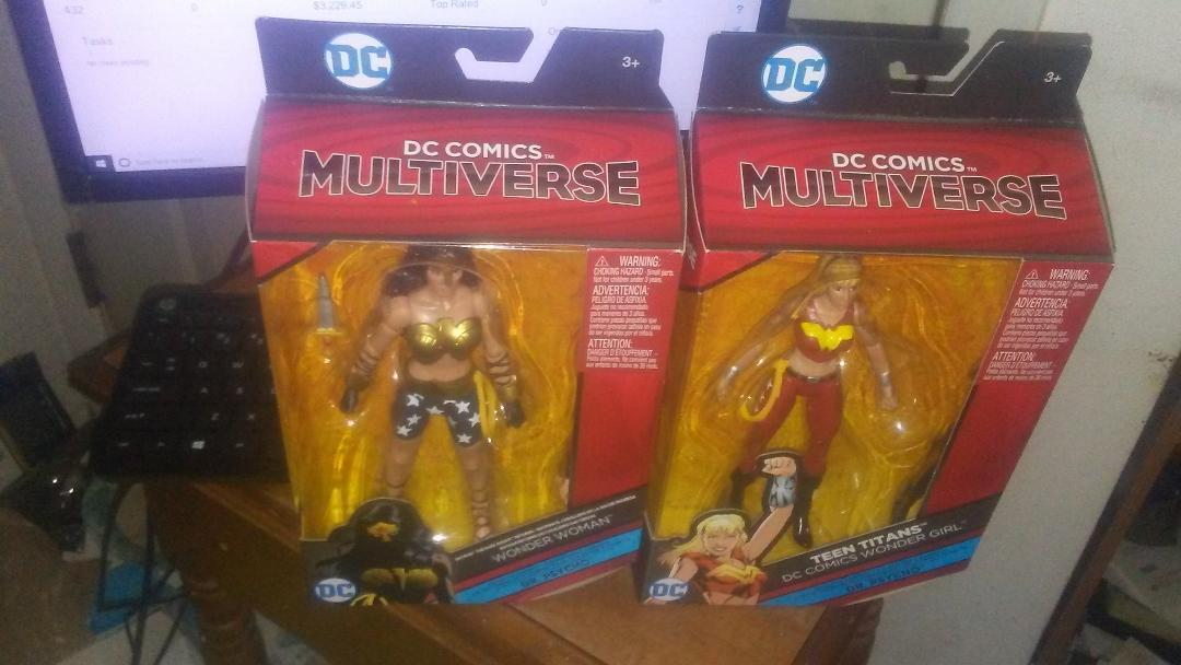 DC Multi-Univers Walmart EXC Wonder Woman & Teen Titans WONDER GIRL BAF Dr Psycho