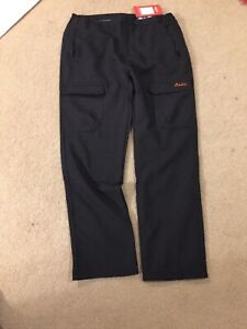 Clothin-Fleece-Lined-Soft-Shell-Cargo-Pants-Water-Repellent-Insulated-2XL