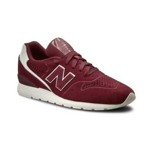the best attitude 085b0 db201 Details about Mens NEW BALANCE 996 Dark Red Trainers MRL996DU
