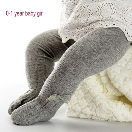 0-2Y Winter Baby Tights Girl Tights Meisje Pantyhose Cotton Lace Bow stocking