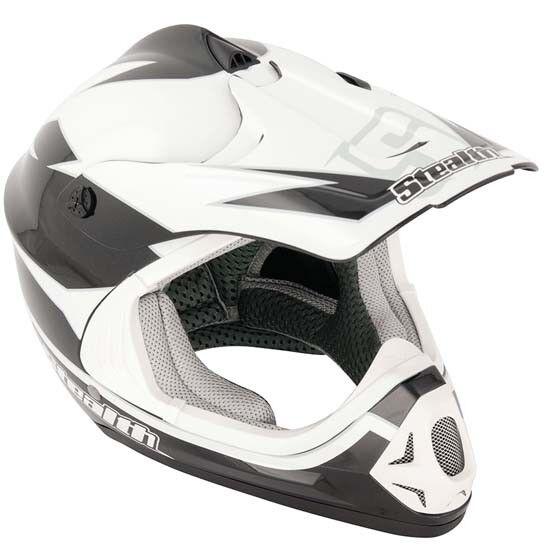 Stealth Full Face MotoX Motocross   Mountain Bike MTB Helmet XXS 52cms Youth