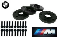 Bmw Wheel Spacers Staggered Kit (2) 12mm & (2) 15mm Fits: 3 Series F30 2012-2014