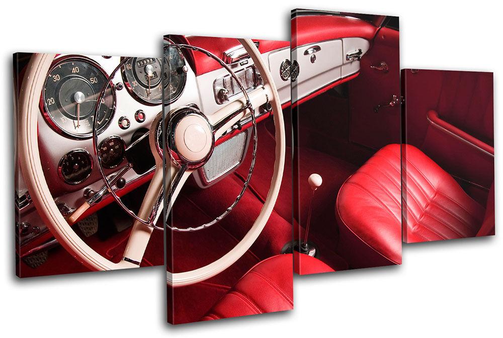 Car Interior Transportation MULTI TELA parete arte arte arte foto stampa 57cd7e