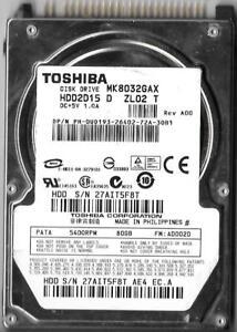 TOSHIBA MK8032GAX TREIBER