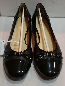 Geox-Women-039-s-Wistrey-1-Ballet-Flats-Black-size-9-M-39-EU
