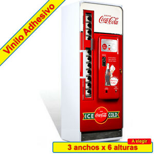 Vinilo-Adhesivo-Pegatina-para-Frigorifico-Nevera-coca-cola-maquina-Sticker