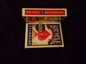 4-pack-Bicycle-Decks-red-amp-blue-USPCC-Playing-Cards-RIDER-Poker-Sealed-Air
