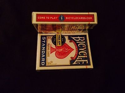 4 pack Bicycle Decks - red & blue - USPCC Playing Cards RIDER Poker Sealed Air