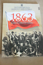 Winning the battles in the history of Poland Tom 57 Grochowiska 1863 Polish Book
