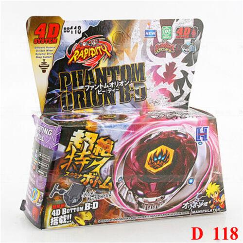 Auswahl Kreisel für Beyblade Metal Fusion Arena Beyblades 4D L-Drago Galaxy Y