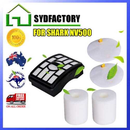 HEPA Post Filters Foams For Shark Navigator Lift Away NV500 NV501 XFF500 Vacuum