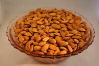 5 Lbs 2016 Crop Unpasteurized Nonpareil Almonds Crop Is In