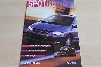 Spotlights 12/1995 Kaufe Jetzt Chrysler Voyager 107335