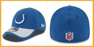 timeless design b0a36 6b63f Image is loading New-Era-39THIRTY-Indianapolis-Colts-Sideline-On-Field-