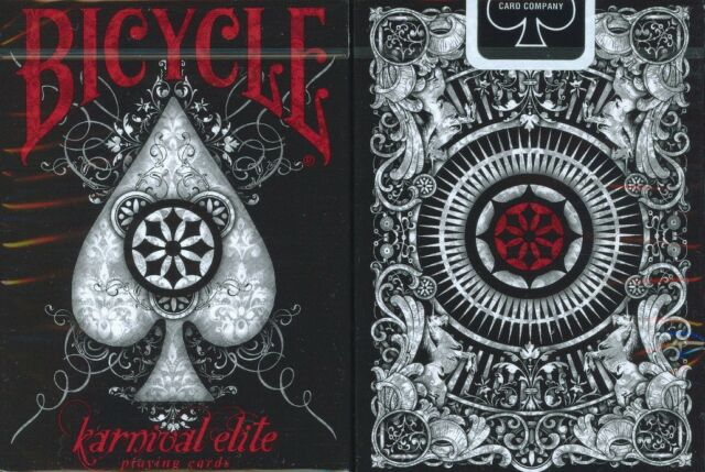 Bicycle Karnival Elite Playing Cards by Big Blind Media -Ltd Ed- Discontinued