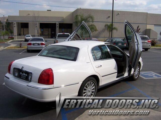 Lincoln Town Car 98 10 Lambo Style Vertical Doors Vdi Bolt On Hinge Kit