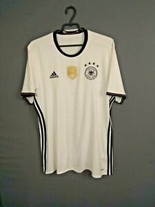 Germany Jersey 2016/17 Home LARGE Shirt Mens Trikot Football Adidas AI5014 ig93