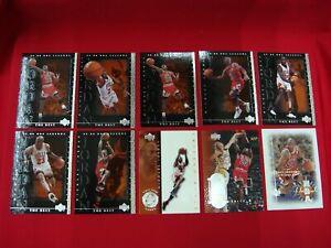 MICHAEL-JORDAN-1999-00-UPPER-DECK-10-CARD-LOT-8-LEGENDS-1-BASE-1-INSERT-L-K