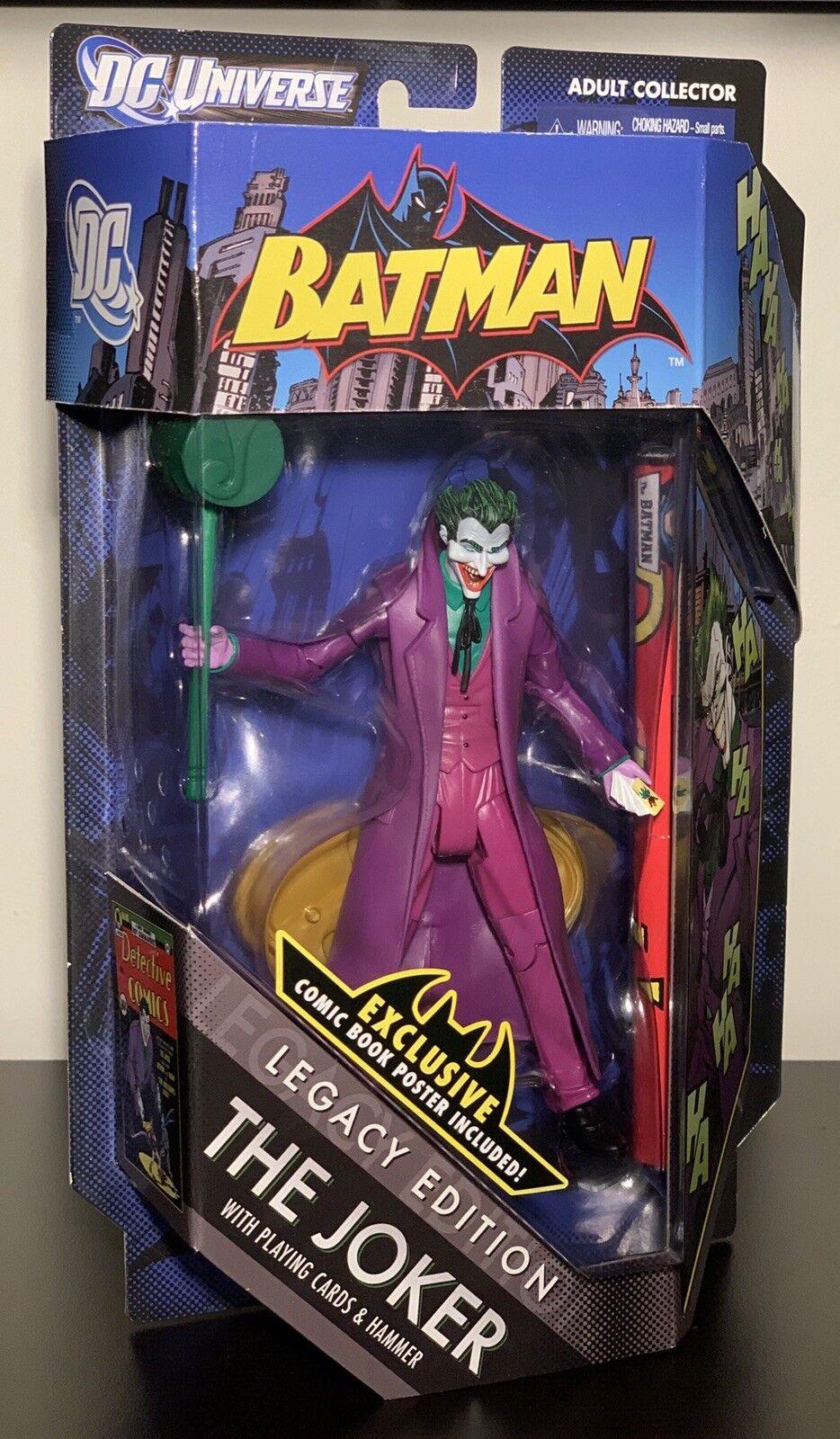 Mattel DC Comics Universe Legacy Edition The Joker Action Figure Detective