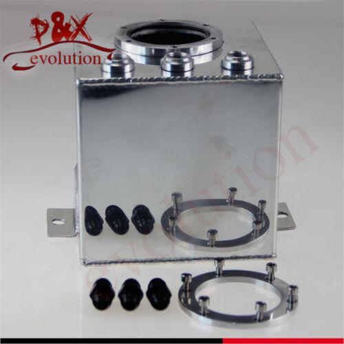 2L AN6 Fuel Surge Pot Tank Billet High Flow Swirl for 044 External Fuel Pump SL