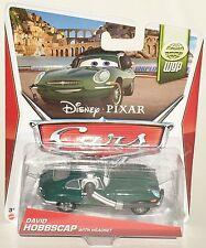 Disney Pixar BHN90 Voitures WGP David Hobbscap avec Casque 15/15 1:55 Véhicule