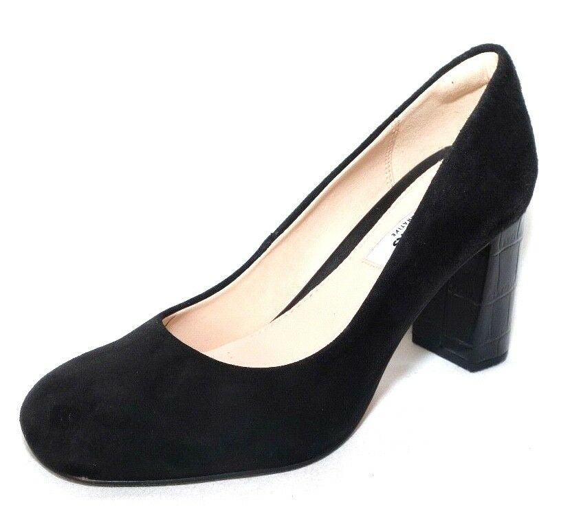 Clarks Ladies GABRIEL MIST black suede shoes size 3.5D.New