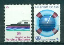 """Nations Unies  Vienna 1983 - Michel n. 30/31  -  """"Sécurité en Mer"""""""