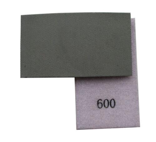 Hook and Loop Backed Diamond Hand Polishing Pad Strip 600 Grit