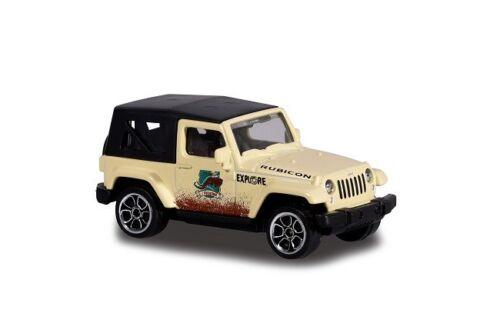 Majorette 212057601-Explorer Cars-Jeep Wrangler-nuevo