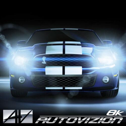 AUTOVIZION LED Headlight 9007 HB5 6K 1991-2002 Ford E-350 Econoline Club Wagon