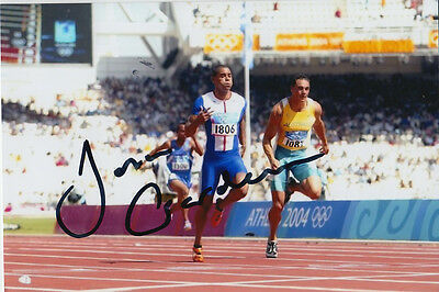 Friendly Jason Gardner Hand Signed Great Britain 6x4 Photo Athens 2004 6. Other