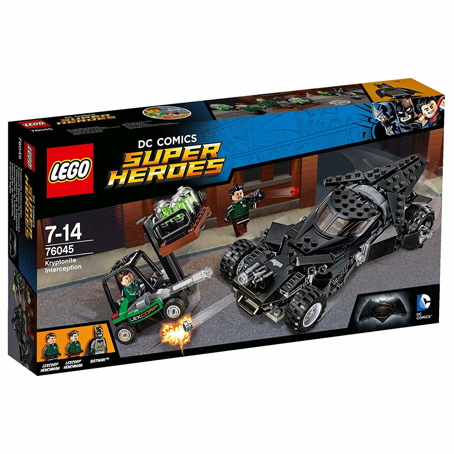 LEGO Super Heroes 76045  Kryptonite Interception - Brand New