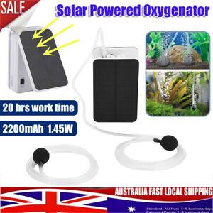 Solar-Power-Panel-Oxygenator-Aerator-Air-Pump-Oxygen-Pool-Pond-Outdoor-Portable