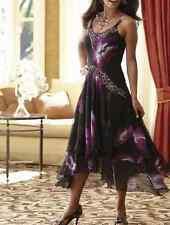 Midnight Velvet Midnight Orchid Dress Beaded NEW NWT size Medium