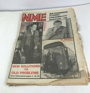New Musical Express Newspaper 13 January 1979