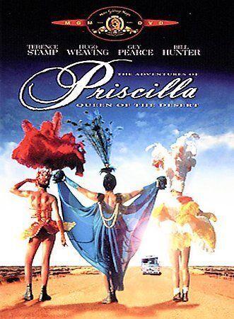 The Adventures of Priscilla, Queen of the Desert (DVD, 2000) w/Insert Rare, OOP