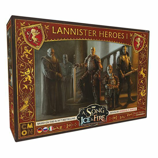 A Song of Ice and Fire Lannister Heroes 1 de de de It Ru Cool Mini or not Westeros 7661e0